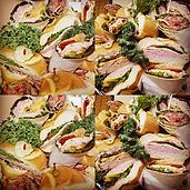 Wrap platter for that special meeting or