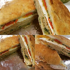 COME TRY OUR Panino sandwiches!