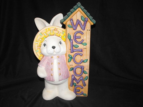 """Welcome"" Rabbit"