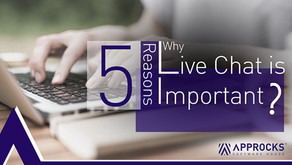 5 Reasons Why Live Chat is Important for Your Business Website !