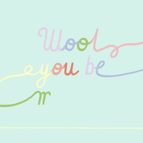 Wool you be mine? - Flora Embroidery ADV