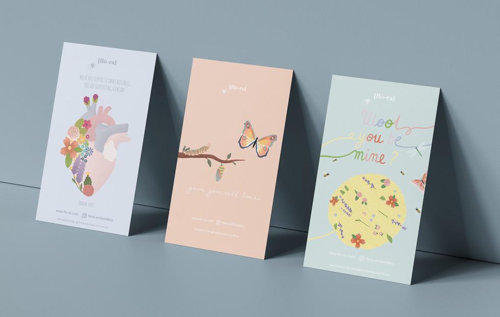 Thank You Card - Tris