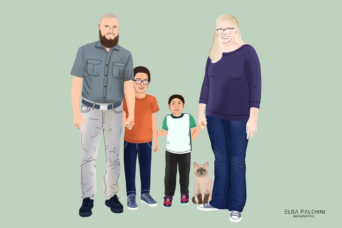 Family Portrait - Karen