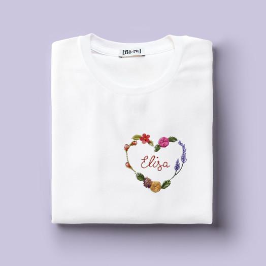 [Flò-ra] T-shirt Mock-up