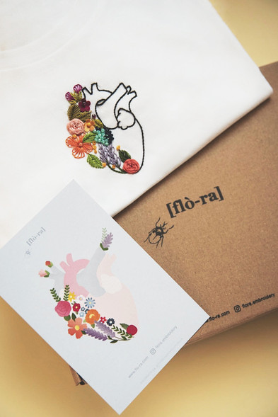 Cuorfiore Card and T-Shirt