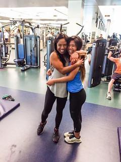 Baby Girl at UC Davis gym