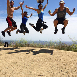 Hiking Runyon with the best Fam on Earth