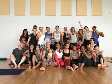 Acro Yoga with Honza & Claudine Lafond