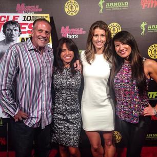 With Jen Widerstrom, Bruce & Kiana