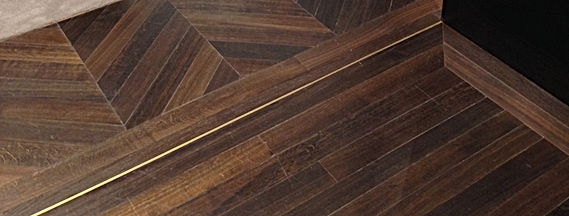 Woodun Limited Chevron Parquet floor