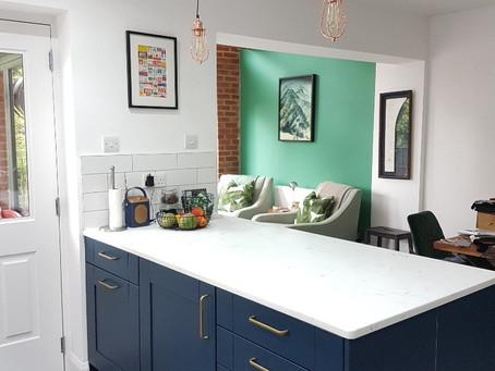 Classic Blue - Kitchen Reno