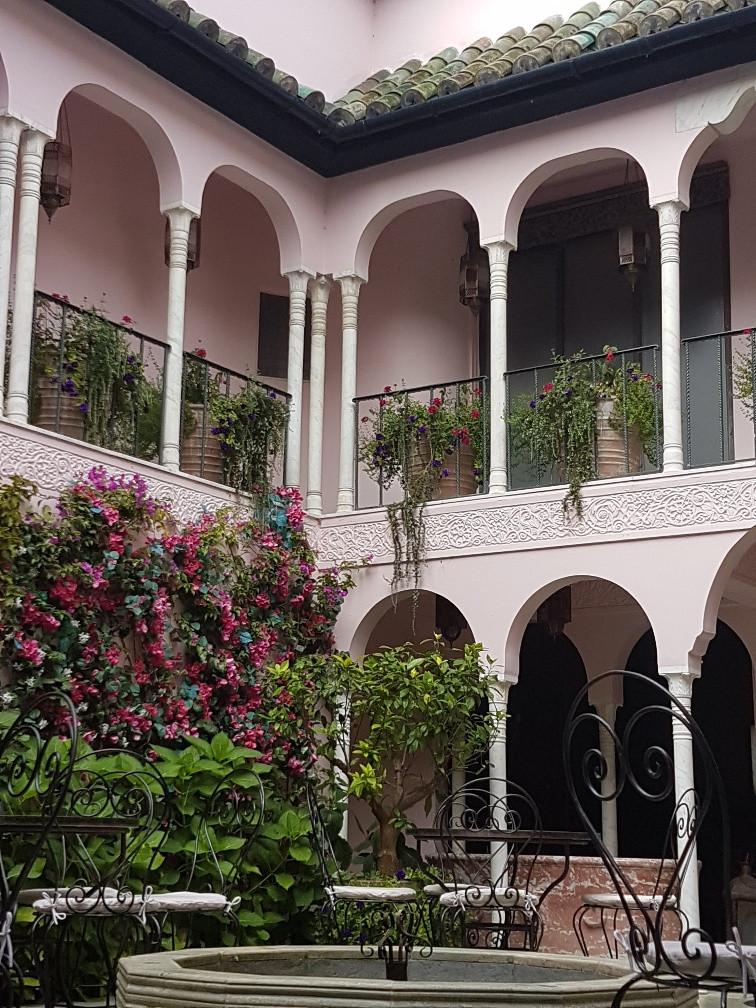 Moroccan Courtyard Garden at Port Lympne Reserve Hotel