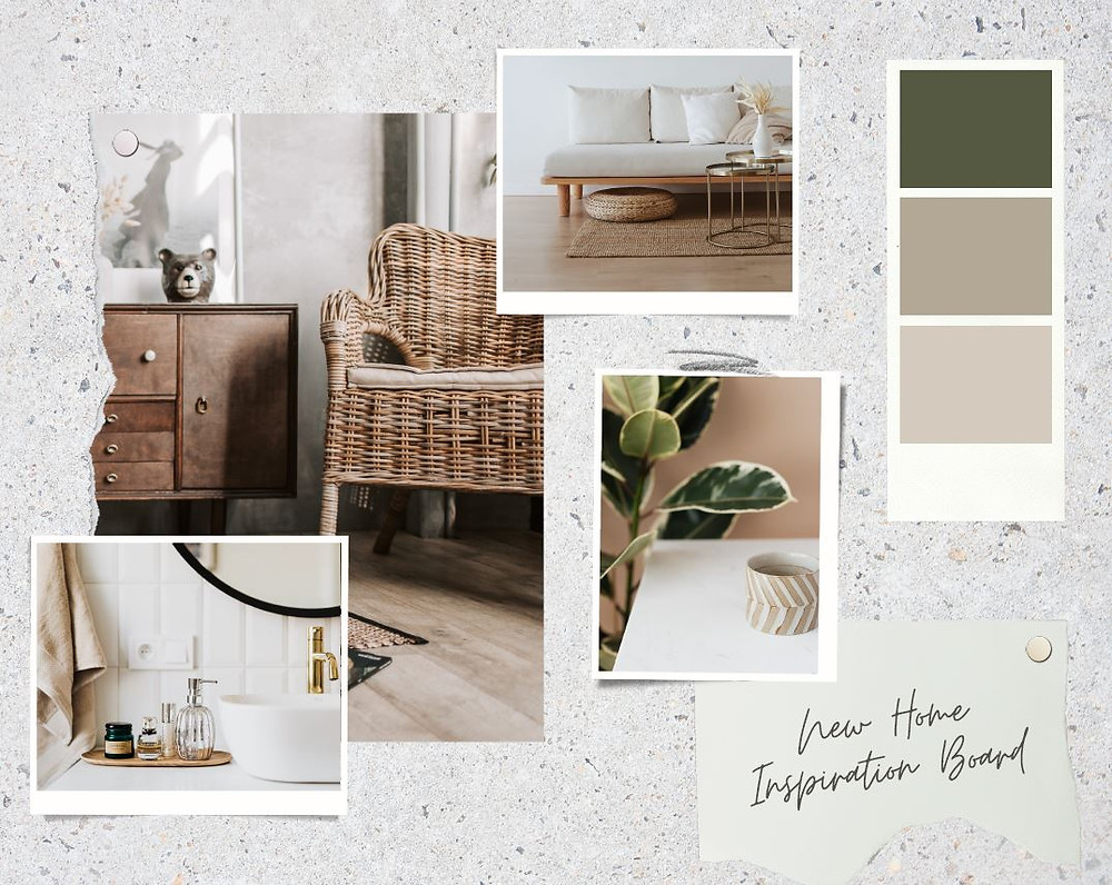 Example of a Mood Board Template in Canva