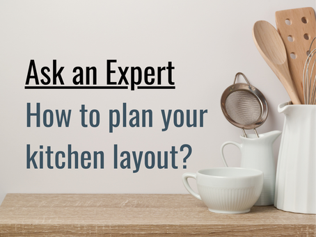 How to plan your kitchen cabinet layout?