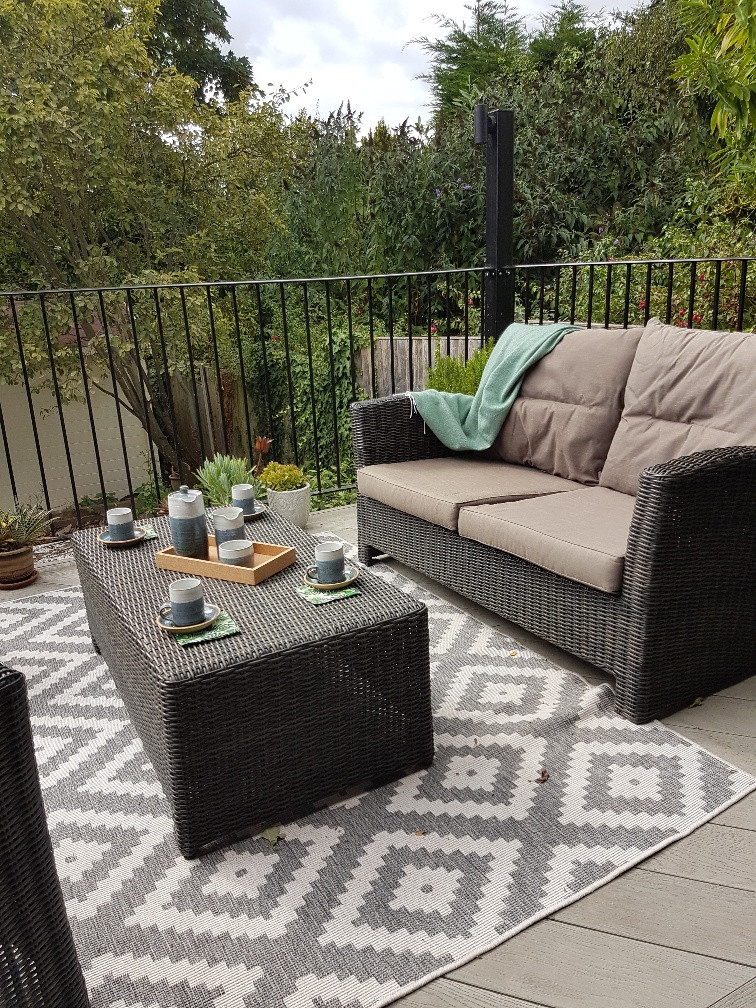 Outside Deck space at My Claybrick Home