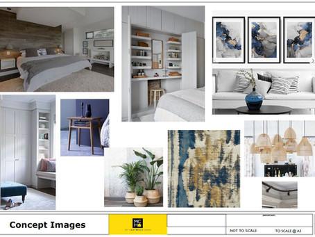 Master Bedroom Concept Design
