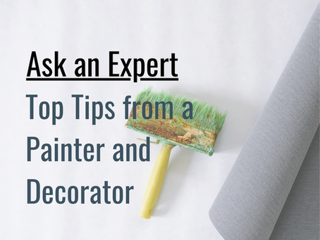 Tips and trends from a Painter and Decorator