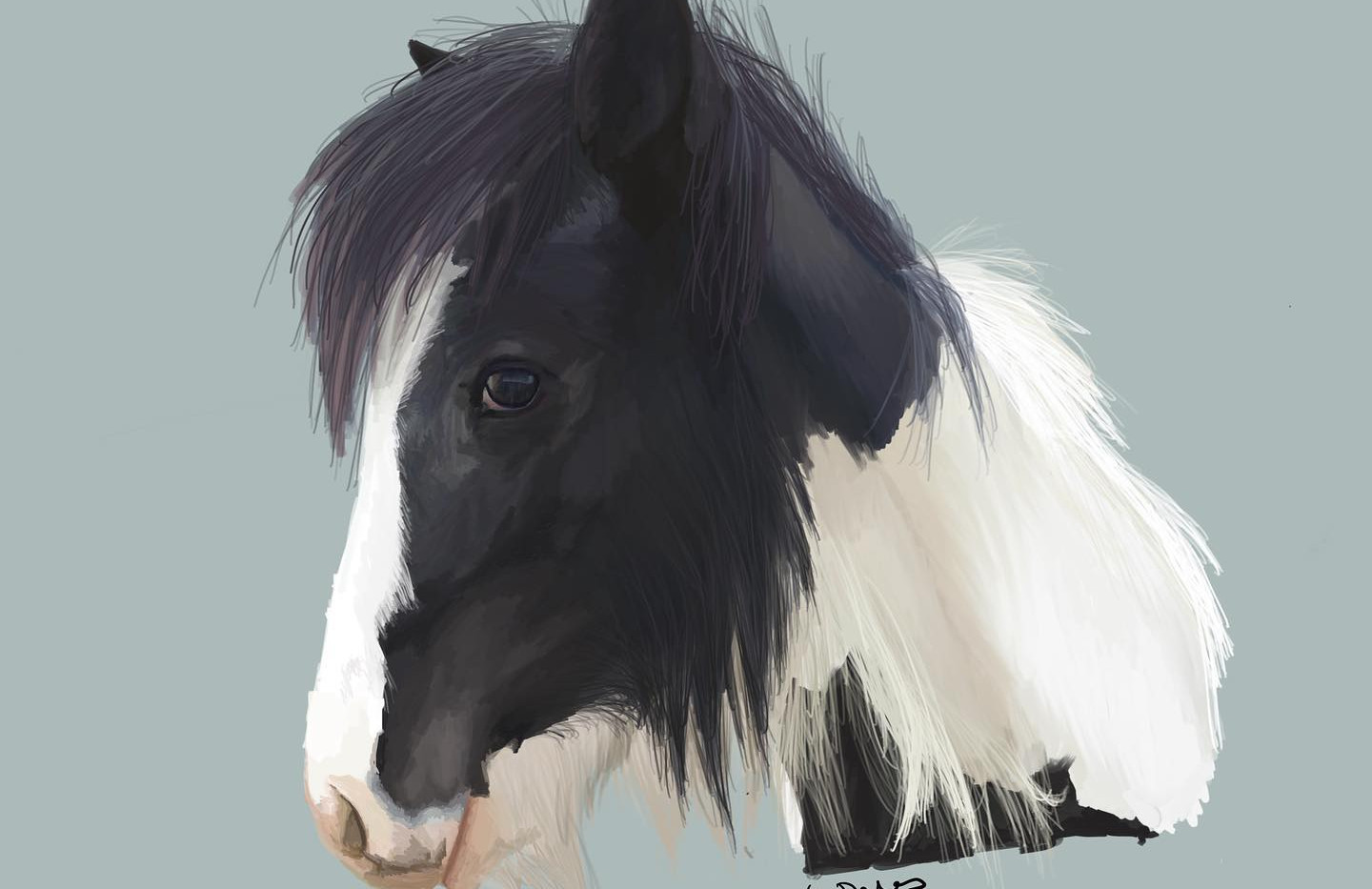 Eggsy Pony Portrait