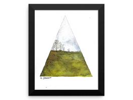 New minimalist landscape painting prints now available!