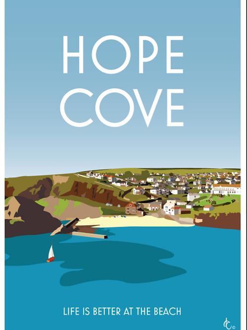 Hope Cove Print