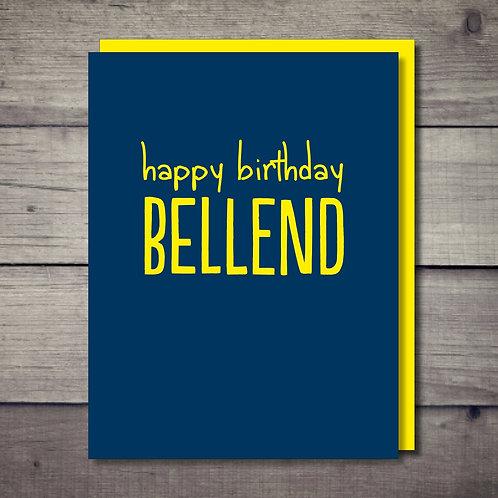 Bellend Card