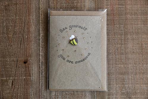 Bee Yourself Card