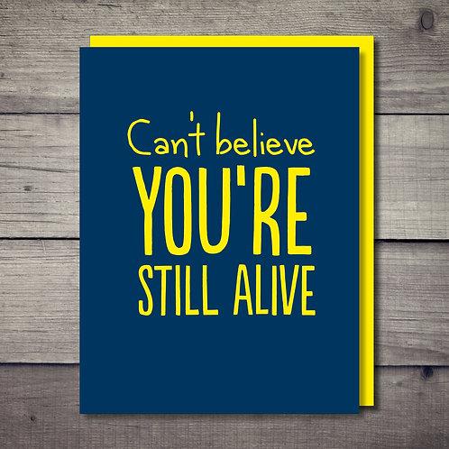 Alive Card