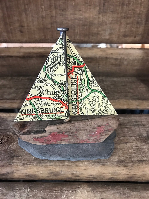 Small Kingsbridge Boat