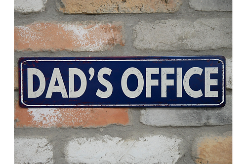 Dad's Office Sign
