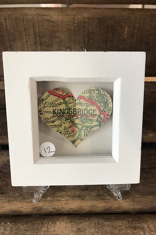 Kingsbridge Heart Map Picture Small