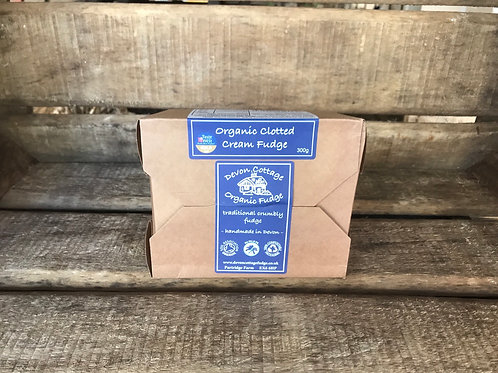 Organic Clotted Cream Fudge