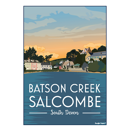 Baston Creek Print