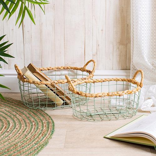 Twin Set Baskets