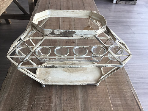 Rustic tealight holder