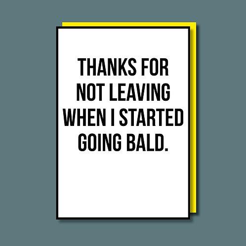Bald Card