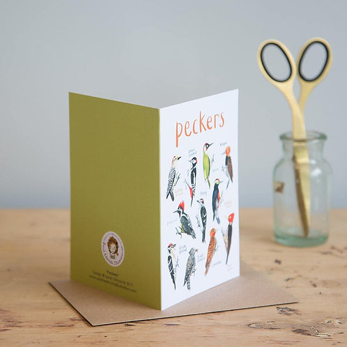 Peckers Card