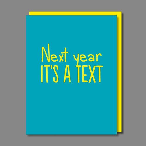 Next Year Card