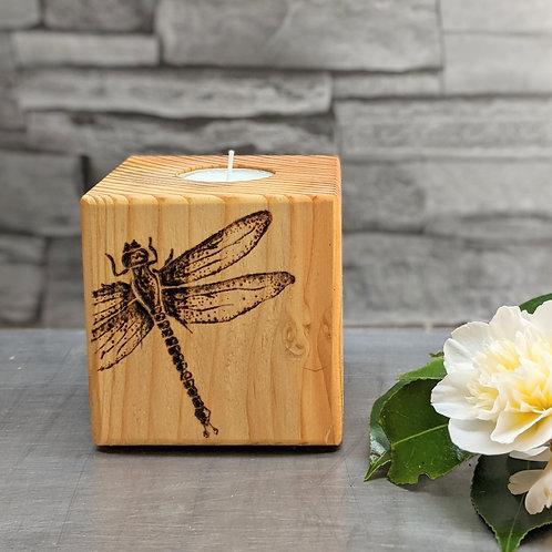 Candle Cube Medium, Dragonfly