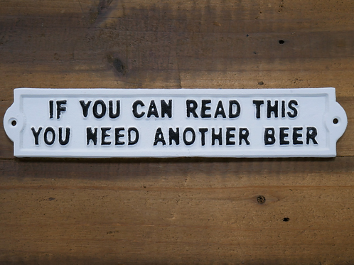 If You Can Read This Sign