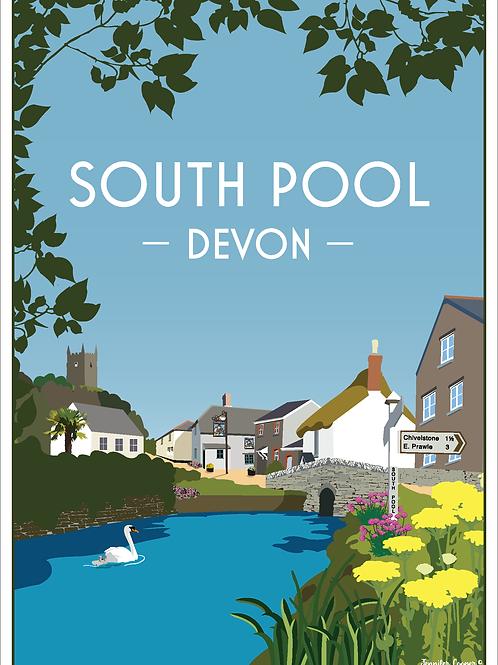 South Pool Print