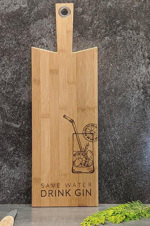 'Save Water Drink Gin' Design Board