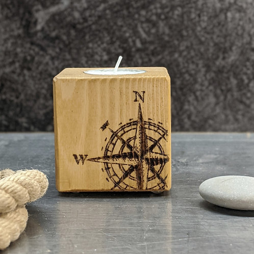 Candle Cube Small, Compass