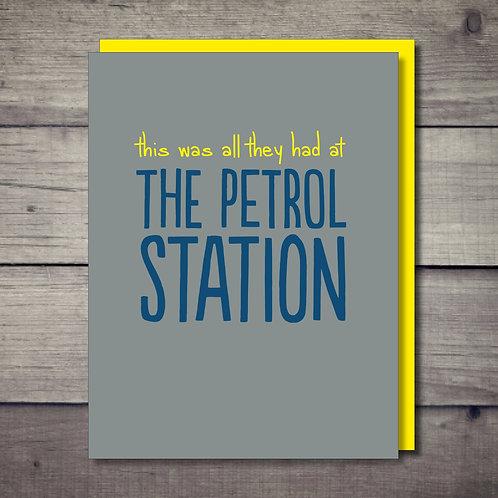Petrol Station Card