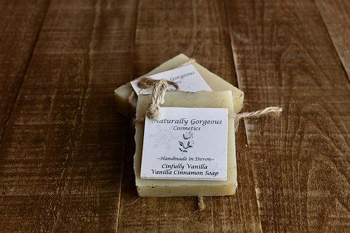 Cinfully Vanilla, Vanilla and Cinnamon Soap
