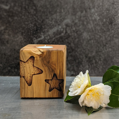 Candle Cube Medium, Star