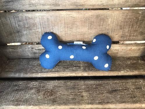 Bone - Polka Dot Blue