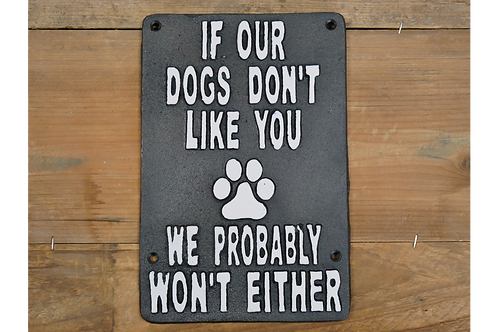 Dogs Don't Like You