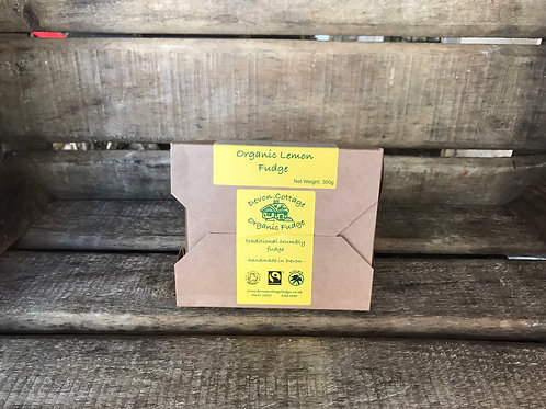 Organic Lemon Fudge