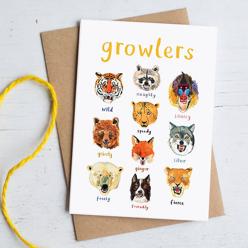 Growlers Card