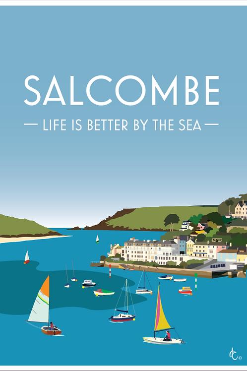 Salcombe Print.